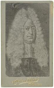 Portret van Abraham van Erpecum (1633-1696)