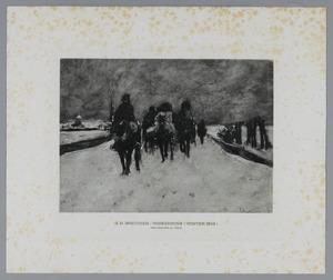 Op verkenning (winter 1805)