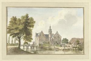 Huis Hamm aan de Niers bij Goch (Duitsland)