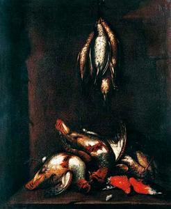 Dode vogels in een nis