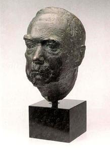 Portret van Karel Paul van de Mandele (1880-1975)