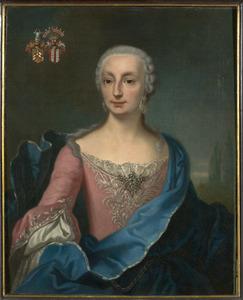 Portret van Theresia Anna Gertrud von Amelunxen