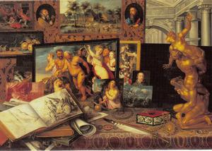 Het kunstkabinet van prins Wladislaus Sigismund Wasa (Władysław Zygmunt Vasa)