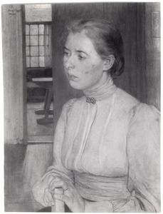 Portret van Gerarda Ernestine Augusta de Lang (...-...)