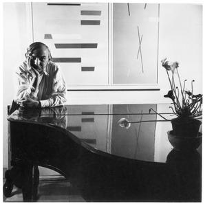 Portret van Friedrich Vordemberge-Gildewart (1899-1962)
