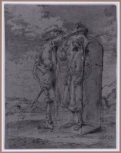 Quevedo ziet Chicotus in de fles (Suenos 1641, boek II, vierde droom)