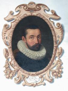 Portret van Jacob van Veen (....-1574)