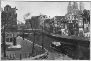 Korte Prinsengracht bij de Brouwersgracht te Amsterdam