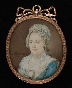 Portret van Amelia Maria Goll van Franckenstein (1748-1829)
