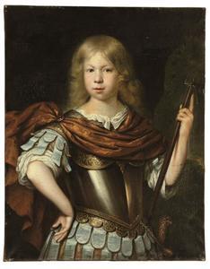 Portret van een jongen als Mars gekleed, waarschijnlijk Willem van Liere
