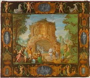 Rebecca en Eliëzer bij de bron (Genesis 24)
