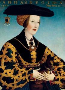 Portret van Anna van Hongarije (1503-1547)
