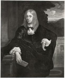 Portret van Adolf Visscher (1644-1701)