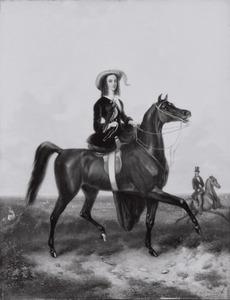 Portret van mogelijk Sophie van Wurtemberg (1818-1877)