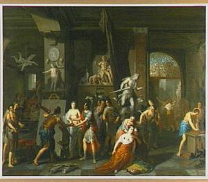 Alexander de Grote schenkt Campaspe aan Apelles