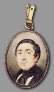 Portret van Boudewijn Verselewel van Dam (1801-1881)