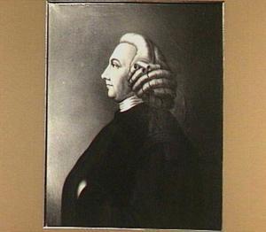 Portret van Everard Scheudius (1742-1794)