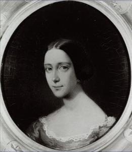 Portret van Catharina Daniela barones van Slingelandt (1819-1858)