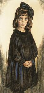 Portret van Andrea Agnes Catharina Maria Sormani (1908-2009)