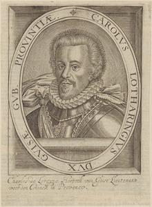 Portret van Charles de Lorraine, duc de Guise (1571-1640)