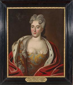 Portret van Sophie Elisabeth van Aldenburg (1661-1730)