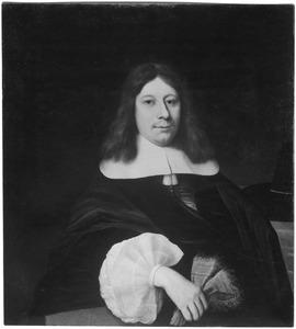Portret van een van de gebroeders Van der Burch, mogelijk Pieter van der Burch (1625-1691)