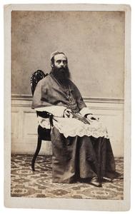 Portret van waarschijnlijk Walterus Hermanus Jacobus Steins Bisschop (1810-1881)