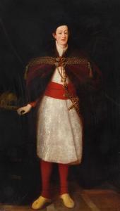 Portret van Ferdinand III van Habsburg (1608-1657), aartshertog van Oostenrijk, als koning van Hongarije