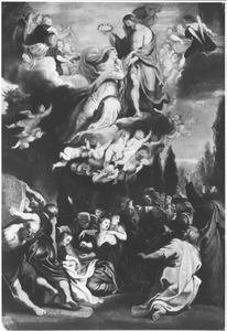 De tenhemelopneming en kroning van Maria