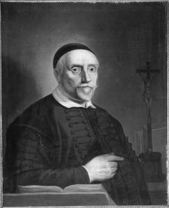 Portret van Jacob Oly (1596-1647), pastoor en stichter van De Lely te Amsterdam