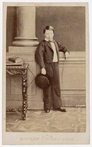 Portret van Alexander van Oranje- Nassau (1851-1884)
