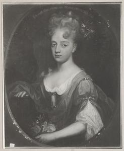 Portret van Johanna Agnes van Nassau-Dietz (1693-1765)