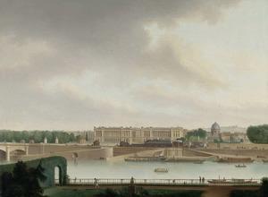 Het uitzicht van de Bataafse ambassade te Parijs op het Place de la Concorde ten tijde van het ambassadeurschap van Rutger Jan Schimmelpenninck
