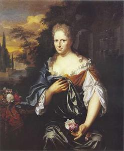 Portret van Anna Maria van Moens (1678-1726)