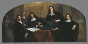 Staalmeesters van de Lakenhal te Leiden