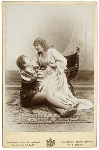 Portret van Franciscus Alexander Maria Phlippeau (1861-1928) en Etta Madier de Montjau