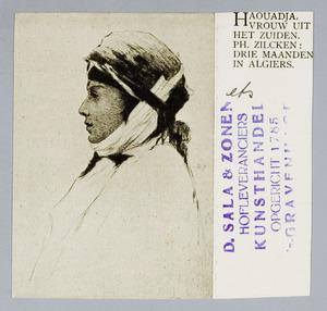 Haouadja, vrouw uit het zuiden