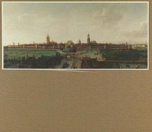 Delft, gezien vanuit het westen