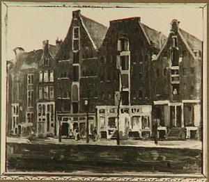 Pakhuizen aan de Oude Waal, Amsterdam