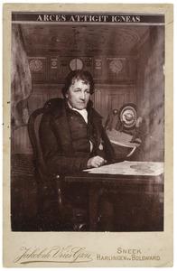 Portret van Eise Eisinga (1744-1828)