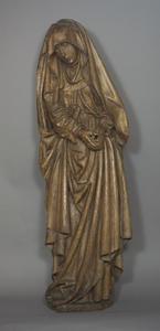 Treurende Maria van een kruisigingsgroep