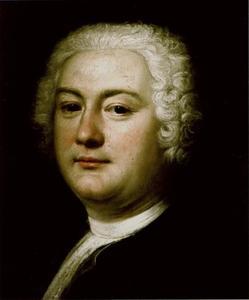 Portret van de architect Georg Wenzeslaus von Knobelsdorff