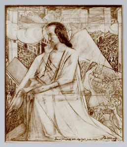 Jezus peinzende over deze tijd: meer liefde