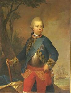 Portret van Willem V, prins van Oranje, erfstadhouder van Holland (1748-1806)
