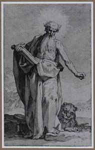 H. Hieronymus in de woestijn