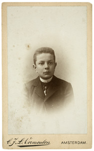 Portret van Johannes Antonie Lodewijk Doyer (1883-1970)