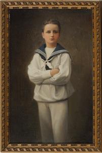 Portret van Adolf Frederik Willem Lodewijk baron van Pallandt (1899-1911)