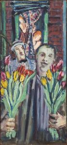 De bloemenverkoper