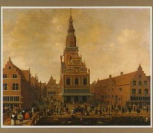 Gezicht op het Waaggebouw te Alkmaar