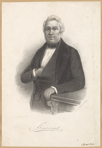 Portret van Gerrit Simons (1802-1868)